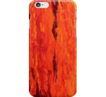 Abstract Fire Drip Painting iPhone Case/Skin  Available now on RedBubble and Society6 Also available as Samsung Galaxy case and iPad case