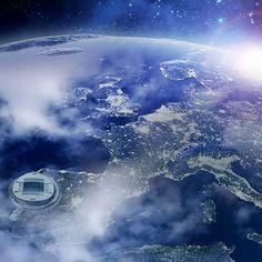 Europa de Azul e Branco