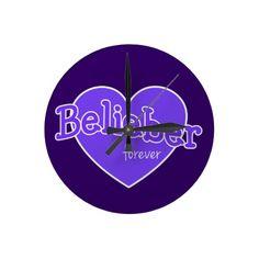 Belieber Forever Clock - Justin Bieber