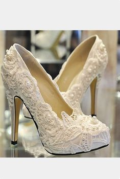 Really pretty, but I'll never be able to walk in these