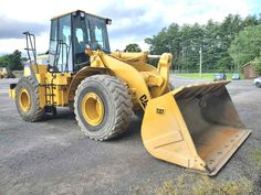 NO SALT - NO SNOW IT'S AS SWEET AS CAN BE 1999 Caterpillar 950G Wheel Loader Location: Freehold, NY 12431 Price: $49,000 Stock#: BH-950G Serial # 2JS00638 Hours : 22000 Engine : Cat 3126 197hp Bucket 4.5 Yard Heaped : Radial Tires 75% Michelin L-5 Enclosed Cab A/C Great Working Heat Machine Weighs 39,565lbs Dims 9.6 w x 11.5 h 27 l Used Excavating Equipment? Buy IT or Sell IT. IT STAYS LISTED-UNTIL IT SELLS IRONMARTONLINE.com Excavators . Loaders . Dozers Heavy Equipment For Sale, Excavator For Sale, Heavy Construction Equipment, Trucks For Sale, Caterpillar, Tractors, Salt, Salts, Butterfly