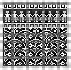 жаккардовый узор для малышей. Обсуждение на LiveInternet - Российский Сервис Онлайн-Дневников