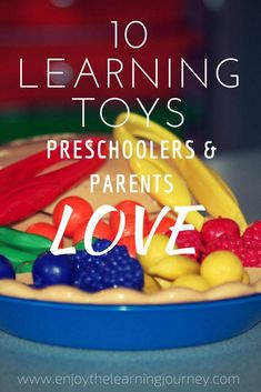 A quality learning toy can be used for years and in different capacities as a child grows. Here are 10 of the best learning toys for preschoolers! Preschool At Home, Preschool Themes, Preschool Toys, Toddler Preschool, Fine Motor Activities For Kids, Learning Toys For Toddlers, Toddler Learning, Baby Activities, Learning Games