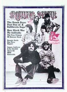 Classic Rolling Stone Magazine Covers | 1971 Rolling Stone Covers