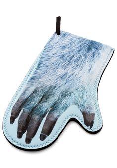 Dinner's Yeti Oven Mitt by Decor Craft Inc. - Multi, Quirky, Good, Winter