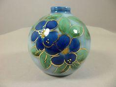 Porcelaine Art Deco Camille THARAUD Limoges FRANCE 1 vase 8cm