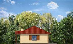 Projekt domu Jak marzenie 88,53 m2 - koszt budowy 83 tys. zł - EXTRADOM Home Fashion, Cabin, House Styles, Home Decor, Projects, Homemade Home Decor, Cabins, Cottage, Decoration Home