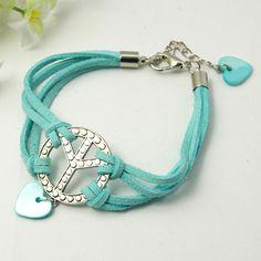 PandaHall Jewelry—Fashion Faux Suede Cord Bracelets with Tibetan Style Pendants | PandaHall Beads Jewelry Blog