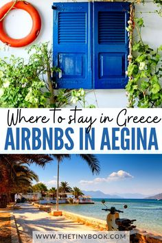 Check the nicest and most traditional Airbnbs to spend your vacation on Aegina island. Beautiful Hotels, Beautiful Places To Visit, Amazing Destinations, Travel Destinations, Visit Greece, Honeymoon Hotels, Europe Travel Guide, My Escape, Travel Goals