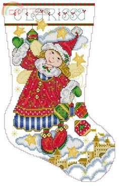 Cross Stitch Christmas Stockings, Cross Stitch Stocking, Christmas Cross, Christmas Stocking Holders, Xmas Ornaments, Family Ornament, Cross Stitch Collection, Christmas Embroidery, Christmas Scenes