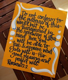 Custom Scripture or Quote Painting  16X20 Canvas by graceelliott10, $40.00