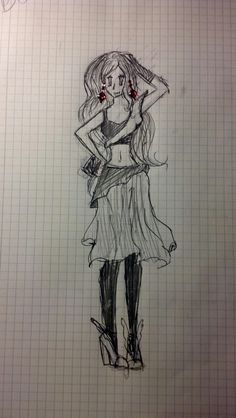 "Desen ""modelul Ary"" facut de mine!  -This is muly drawing ""Ary model""!  -I hope you like it! If you did, give it a ""♥""! Because i ♥ u too! Sper ca va place! Daca da, dati o ""♥""! Pentru ca si eu va ♥!!!"
