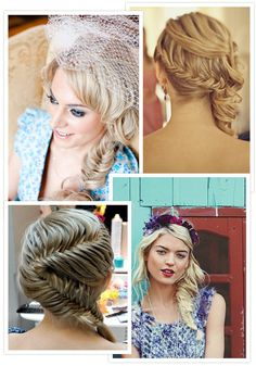 Not for my wedding day but this zig zag braid is pretty cool
