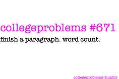 college problems 671.
