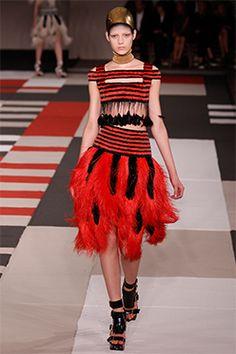 Look 24 from the Alexander McQueen Spring Summer 2014 presentation Fall Fashion  Week, Fashion 9c7332f6f1a