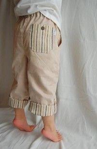 Tutorial: Little boys' pants · Sewing | CraftGossip.com