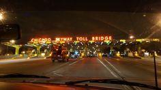 Chicago Skyway Toll Bridge at night - Exploring Alternatives Lessons Learned, Ottawa, Iowa, Exploring, Bridge, Road Trip, Chicago, Learning, Night