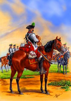 Austrian Trautmansdorf Cuirassier Regiment, Seven Years War