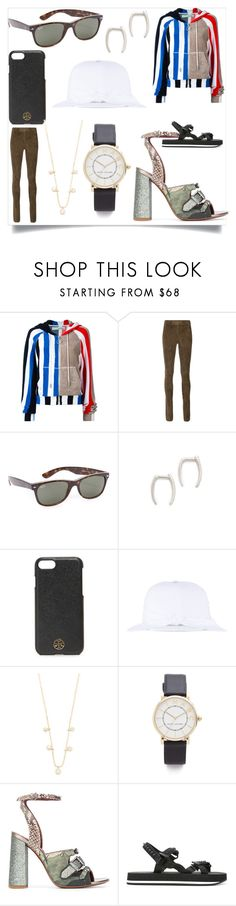 """""""Keeps you looking young"""" by denisee-denisee ❤ liked on Polyvore featuring Off-White, Joseph, Ray-Ban, Gabriela Artigas, Tory Burch, Federica Moretti, ZoÃ« Chicco, Marc Jacobs, Antonio Marras and Dsquared2"""