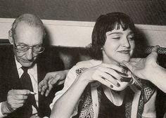 Madonna and William S Burroughs at Studio 54 Danny Devito, Jimi Hendrix, Kurt Cobain, Kim Gordon, Beat Generation, Patti Smith, Frank Zappa, Mick Jagger, Jimmy Page