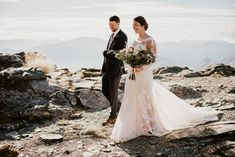 Zach + Jordan's Heli Elopement Wedding at Cecil Peak | Simply Perfect Weddings - Queenstown Wedding Planners Elopement Wedding, Elope Wedding, Wedding Dresses, Flower Room, Champagne Toast, Wedding Planners, Perfect Wedding, Groom, Weddings