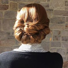 Up-do by Cee Cee #updo #hair #bridesmaid #wedding #headbangerssalon