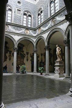 Courtyard of the Palazzo Medici-Riccardi Florence