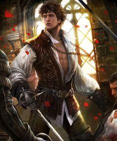 duelist swashbuckler