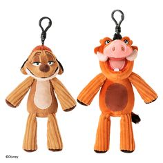 Disney Lion King Backpack Clips NEW IN PACKAGE Set of 4 Backpack Clips