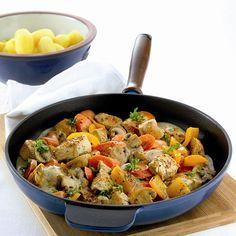 Pannetje met kalkoen en groenten Recept | Weight Watchers Nederland