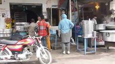 Street scene in Heera Mandi (Lahore's former red-light disctrict)