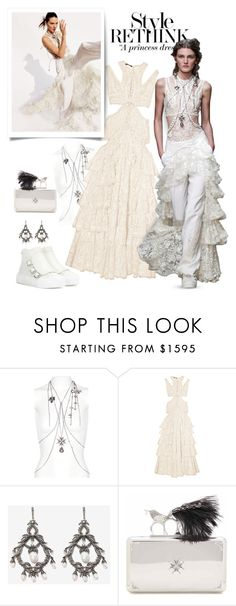 """A Princess Dress"" by emavera ❤ liked on Polyvore featuring Once Upon a Time, Alexander McQueen, AlexanderMcQueen and trendreport"