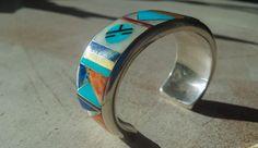Online veilinghuis Catawiki: Zware asymmetrische Zuni Armband