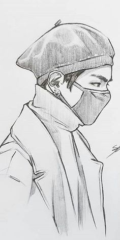 Kpop Drawings, Art Drawings Sketches Simple, Pencil Art Drawings, Sketch Art, Human Sketch, Face Sketch, Art Drawings Beautiful, Drawings Of Friends, Art Sketchbook