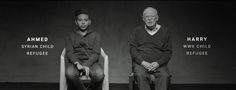 UNICEF | The Shared Story of Harry and Ahmed | Refugee Comparison Viral Awareness Film | Award-winning Social Video | D&AD
