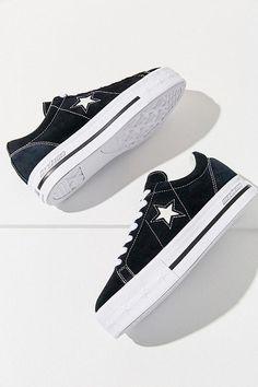 33d9682050dab Converse One Star X MadeMe Suede Platform Sneaker