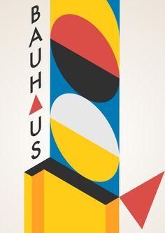 Bauhaus 100 years old - Pin This Design Bauhaus, Bauhaus Colors, Bauhaus Art, Bauhaus Style, Bauhaus Logo, Design Poster, Design Art, Logo Design, Identity Design