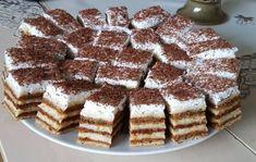 """Sursa foto: Facebook """"Dulcele copilăriei"""" Choux Pastry, Sicilian, Roman, Easy Desserts, Tiramisu, Caramel, Sweets, Ethnic Recipes, Food"""