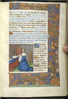 Psalter, MS M.934 fol. 187r - Images from Medieval and Renaissance Manuscripts - The Morgan Library & Museum