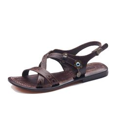 Handmade Leather Womens Sandals