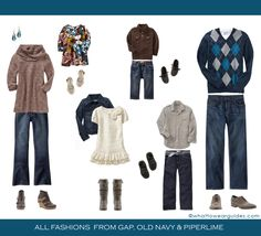 Fall What to Wear for Family Photo