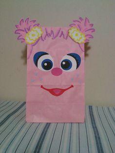 Abby Cadabby from Sesame Street inspired birthday party/treat bags. $15.00, via Etsy.