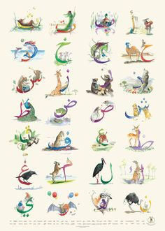 2a9b4c2e0a6 26 Best Animo Alphabets images in 2019