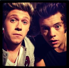 Harry and Niall<3