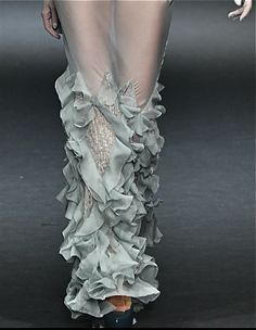 John Galliano - Runway Detail