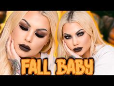 __ Hi Friends, Happy Saturday! Its fall baby, so i originally wanted to do a fall look, whatever that means, but its more of a dramatic grunge looking . Grunge Makeup Tutorial, Fall Makeup Tutorial, Makeup Tutorial Foundation, Grunge Look, 90s Grunge, Style Grunge, Simple Makeup Looks, Fall Makeup Looks