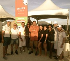 Luzzo's Group at SOBEWFF in Miami   Feb 20/23 2014   Burger Bash and Best of The Munchies