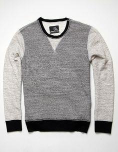 Combo Crew Sweatshir #menfitness #mensfitness #mensports #sweatshirts #hoodies #fitmen