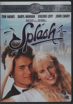 Splash (DVD, 2004, 20th Anniversary Edition) Rated PG, Widescreen,  #TouchstonePictures