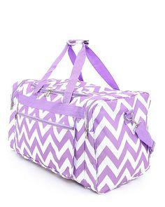 Free SHIPPING Lavender Duffle Bag Free by MonogrammedbyMeeMee, $33.00
